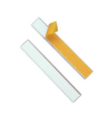 Schilderrahmen selbstklebend Schildfix transparent 200x20mm 10 Stück