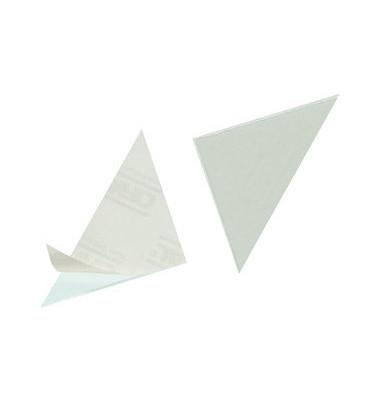 Dreiecktaschen sk Cornerfix transp. 75mm 8 St