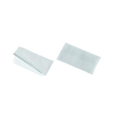 Sichttaschen Pocketfix Visitenkarten 110x62mm farblos selbstklebend 10 Stück