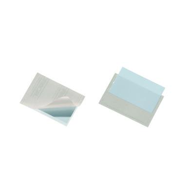 Sichttaschen Pocketfix Visitenkarten 93x62mm farblos selbstklebend 10 Stück