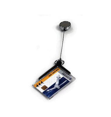 Ausweishalter De Luxe Pro sw/tr 54x85mm 10 St