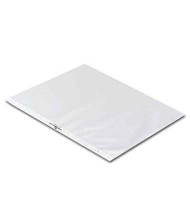 Tischflipcharthüllen A4-quer genarbt farblos 10 Stück