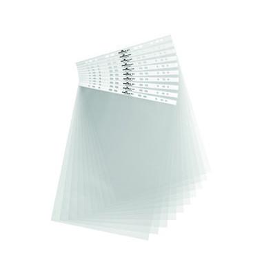 Tischflipcharthüllen A3-hoch genarbt farblos 10 Stück