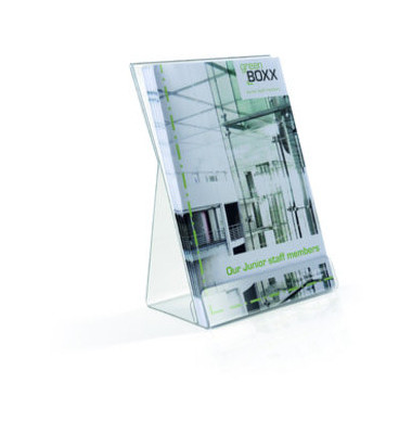 Prospekthalter transparent Format DIN A5