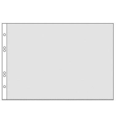 Prospekthüllen 4340 A4-quer glasklar glatt 75my oben offen 10 Stück
