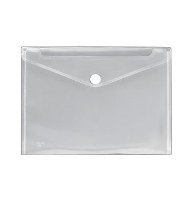 Dokutaschen m. Klettverschluß transparent A4