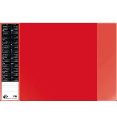 Scheibunterlage VELOCOLOR rot mit seitlichen Taschen, 40x60