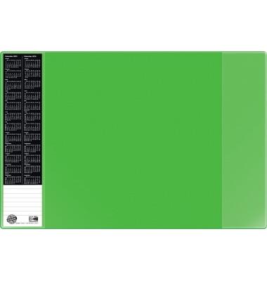 Scheibunterlage VELOCOLOR grün mit seitlichen Taschen, 40x60