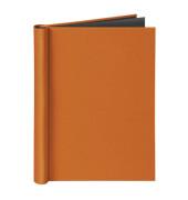 Klemmbinder A4 für ungel. Schriftgut Füllhöhe 20mm, 150 Blatt, orange.