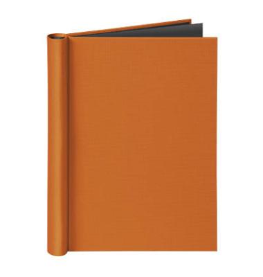 Klemmbinder 4944 330, A4, für ca. 150 Blatt, Karton, orange