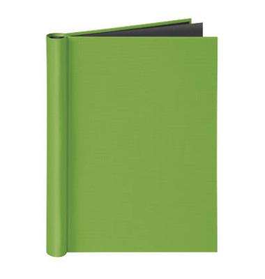Klemmbinder A4 für ungel. Schriftgut Füllhöhe 20 mm max. 150 Blatt, grün.