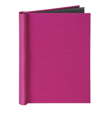 Klemmbinder A4 für ungel. Schriftgut Füllhöhe 20 mm max. 150 Blatt, pink.