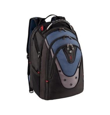 Notebookrucksack Ibex b.17 Zoll sw-bl 38x25x48cm Polyest.
