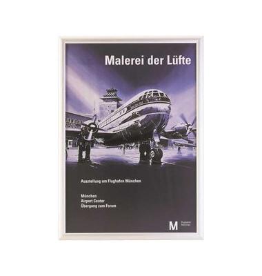 Klemmrahmen Alu m.Gehrungecken silber A3 25mm