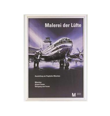 Klemmrahmen Alu m.Gehrungecken silber A4 25mm