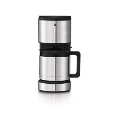 STELIO Kaffeemaschine Thermo schw-sil