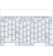 Plakatkalender 915 14Monate/1Seite 100x70cm 2020