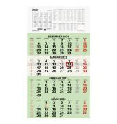 Viermonatskalender 959 4Monate/1Seite 330x635mm 2020 Recycling