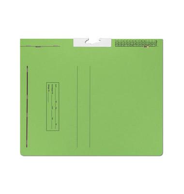T-Gleit-Hefter Pendelhefter BK008 A4 320g Karton hellgrün kaufmännische Schlauchheftung