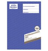 Ausbildungsnachweis für die Berufs- ausbildung A4, 28 Blatt, 1 Woche je