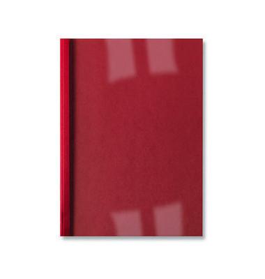 Thermobindemappe Bus.Line A4 rot Rücken:1,5mm 250g 10-15 Blatt 100 Stück