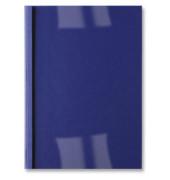 Thermobindemappe Leder dunkelblau A4 3 mm 230 gramm 15-30 Blatt 100 Stück