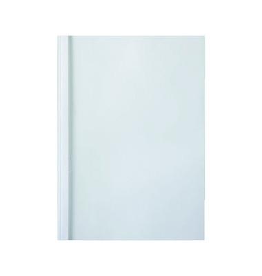 Thermobindemappe ThermaBind A4 weiß 4mm 240g 40 Blatt 100 Stück
