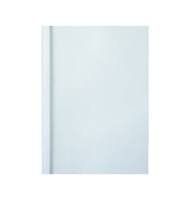 ThermaBind Mappe Standard A4 weiß Rücken:4mm 240g 100 Stück