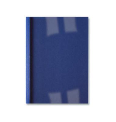 Thermobindemappe Bus.Line A4 royalblau Rücken:1,5mm 250g 10-15 Blatt 100 Stück