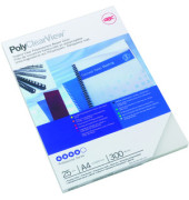 Umschlagfolie Polycover f.d.RS transp. A4 0,3mm 25 St