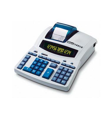 Tischrechner 1491X,14-stellig lichtgrau