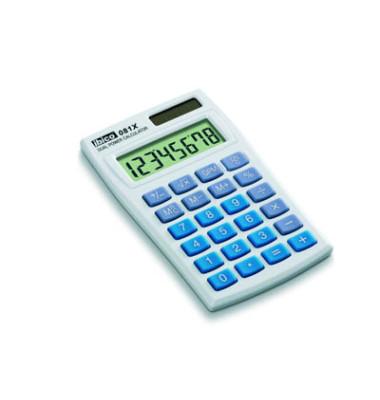 Taschenrechner 081X 8-stellig lichtgrau