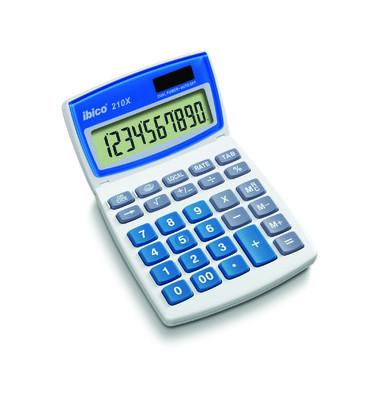 Tischrechner 210X,10-stellig hellgrau