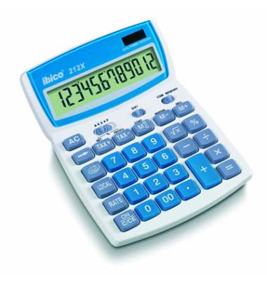 Tischrechner 212X,12-stellig hellgrau