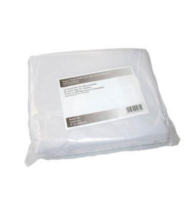 Abfallsäcke für Aktenvernichter 9000037 transparent 135 Liter 50 Stück