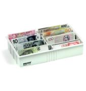 Sorteneinsatz für Eurobanknoten 330 x 195 x 65 mm 8 Fächer