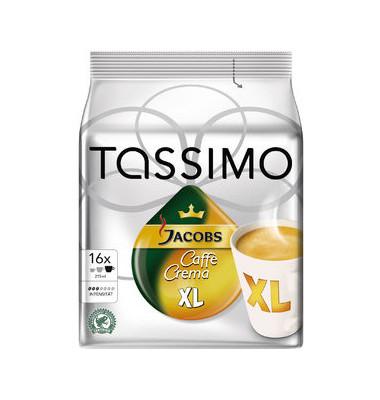 Tassimo Caffe Crema XL Kaffeepads 16 Stück á 8,3g