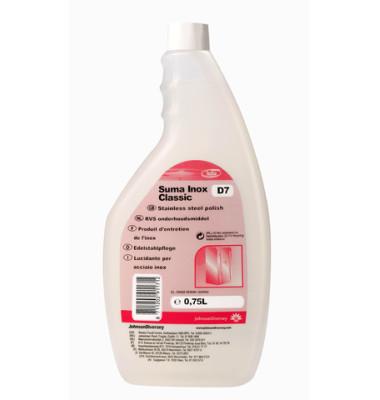 Edelstahlpflege Suma Inox Classic D7 Flasche 750 ml