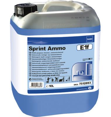 Unterhaltsreiniger Taski Sprint Ammo E1f Kanister 10 Liter