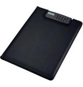 Schreibmappe BRESCIA A4 schwarz 33x25x2cm Lederim.