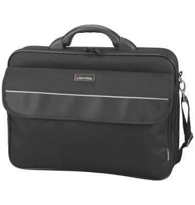 Notebooktasche Elite L schwarz bis 17 Zoll