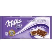 Schokolade Alpenmilchcreme Tafel 100g