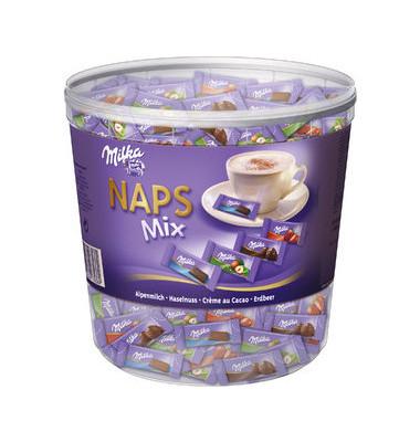 Naps Schokolade Mix 1000g Dose