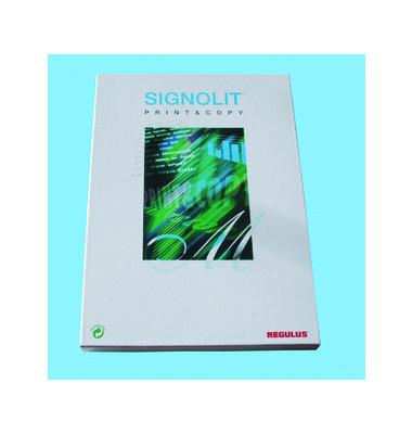 Laser-u.Kopierfolie Signolit A4 weiß/matt selbstklebend 0,075mm 100 Blatt