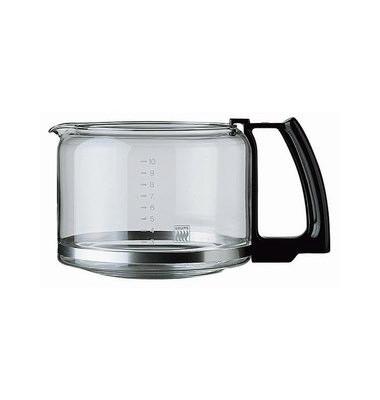 Ersatzglaskanne F034 schwarz für 10 Tassen ohne Deckel