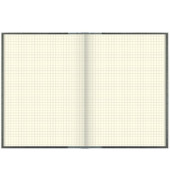 Geschäftsbuch 86-15224 A5 kariert 192 Blatt 384 Seiten