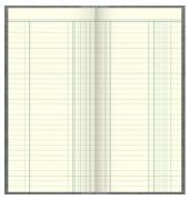 Geschäftsbuch 86-13423 2/3 A4 liniert 144 Blatt 288 Seiten