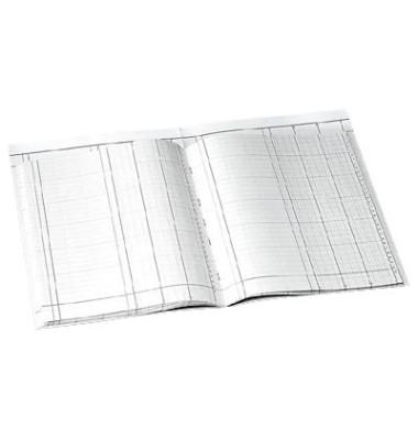 Spaltenbuch 86-11031 A4 40 Blatt mit Kopfleiste 3 Spalten über 1 Seite