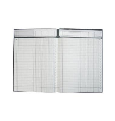 Spaltenbuch 3 Spalten Deckenband mit Kopfleiste A4 96 Blatt