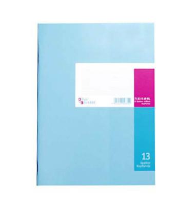 Spaltenbuch 86-11631 A4 40 Blatt mit Kopfleiste 13 Spalten über 2 Seiten